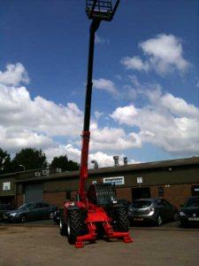 10 meter teleporter & loader hire in ludlow