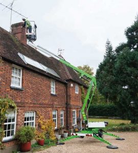 trailer mounted cherry picker hire in ludlow